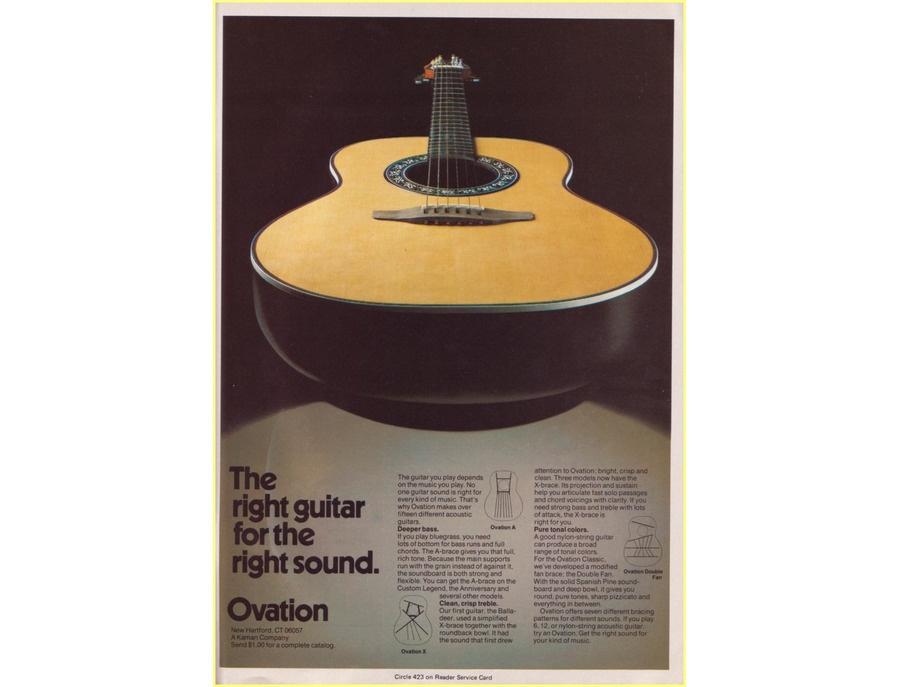 1979 Ovation Matrix