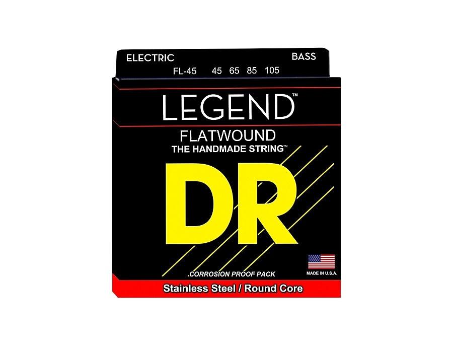 DR Strings Flatwound Legend Bass Strings Medium