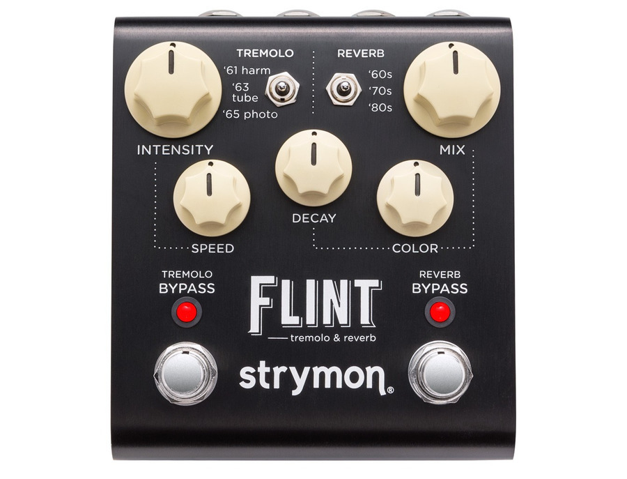 Strymon flint tremolo reverb pedal xl