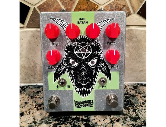 Abominable Electronics Hail Satan Deluxe
