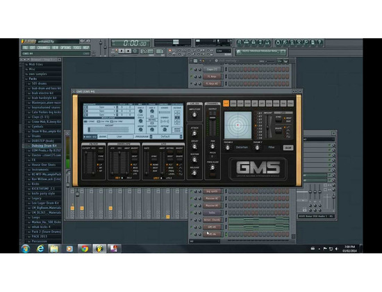 GMS (Groove Machine Sythesizer) Image- Line