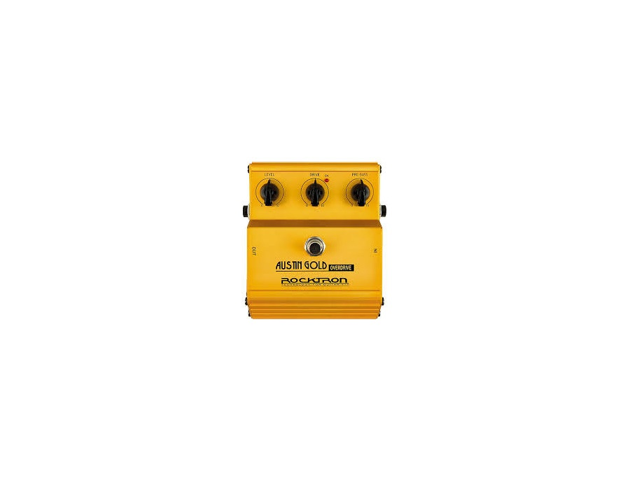 Rocktron Austin Gold Overdrive Guitar Effects Pedal