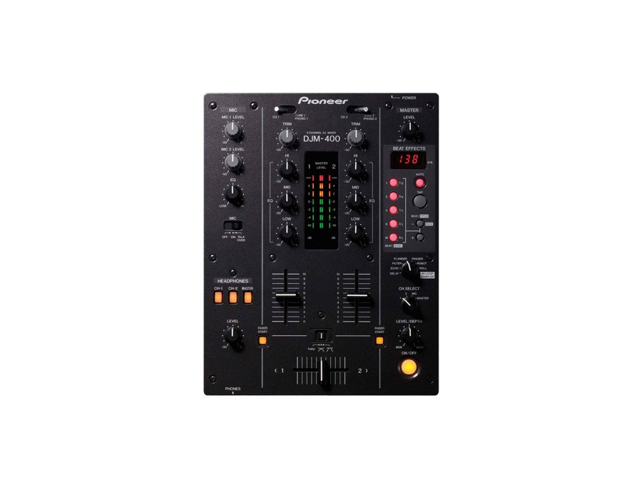Pioneer djm 400 dj mixer xl