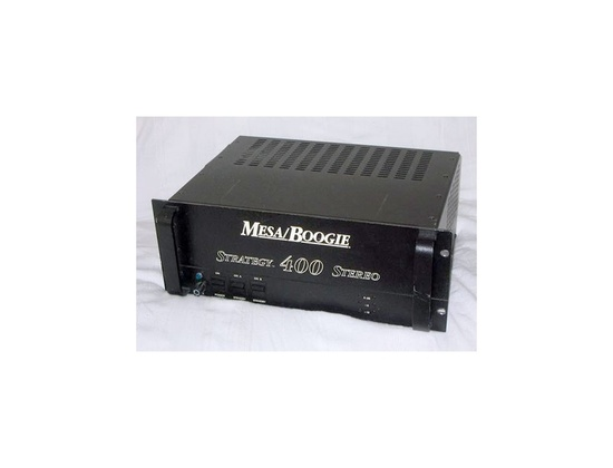 Mesa Boogie Strategy 400 Stereo Power Amp