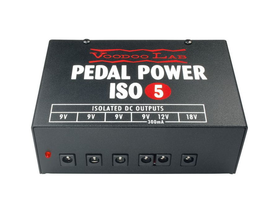 Voodoo lab pedal power iso 5 xl