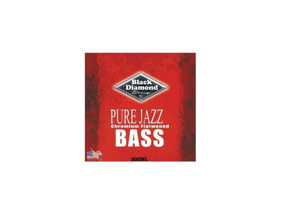 Black Diamond Strings Pure Jazz Chromium Flatwound