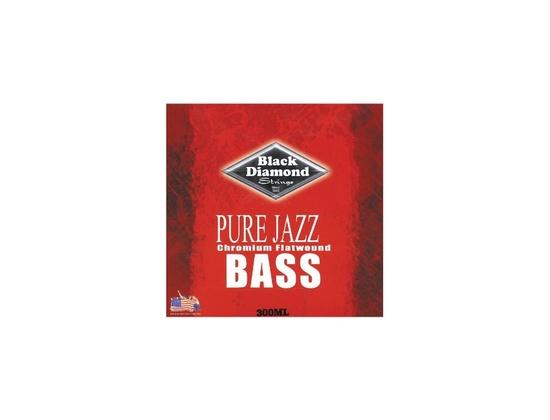 Black Diamond Strings Pure Jazz Chromium Flatwound Reviews