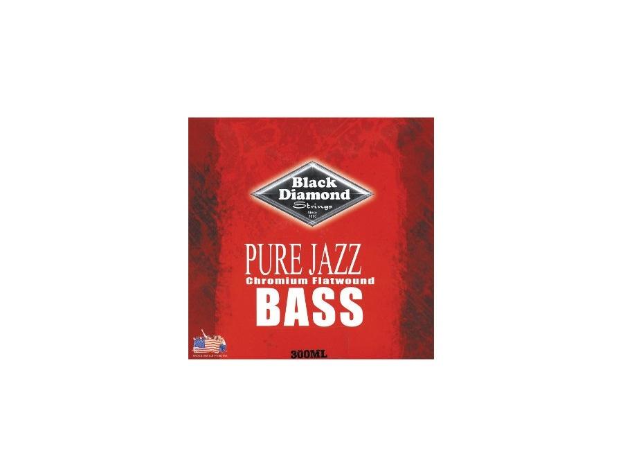 Black Diamond Strings Pure Jazz Chromium Flatwound
