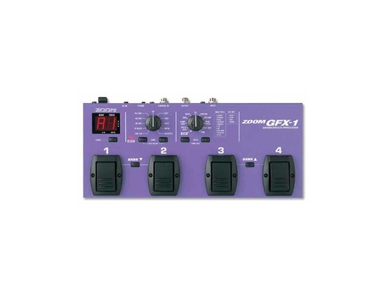 Zoom GFX-1 Multi Effects Pedal