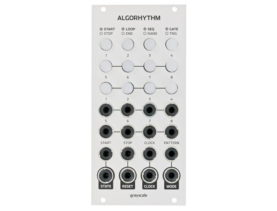 Grayscale Algorhythm 8 step pulse sequencer