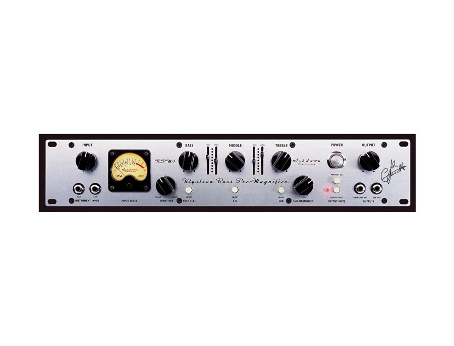 Ashdown RPM-1 preamps