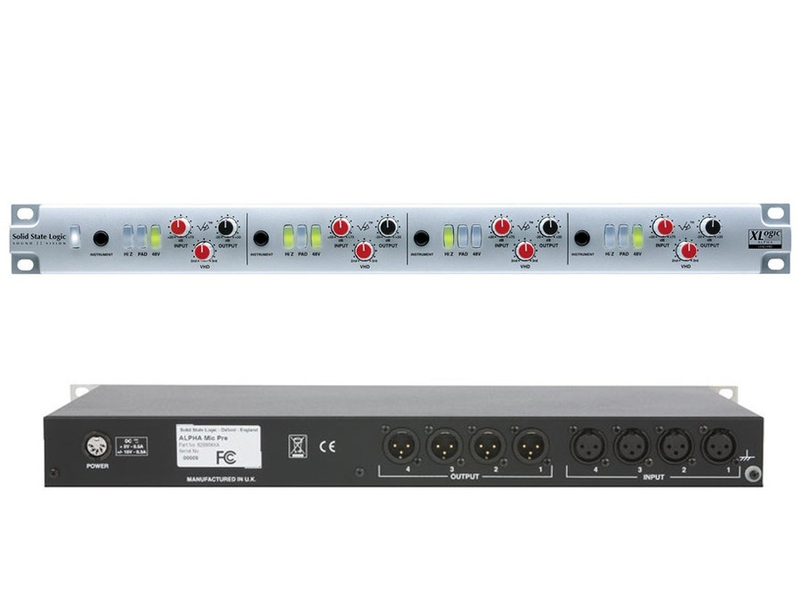 SSL XLogic Alpha VHD