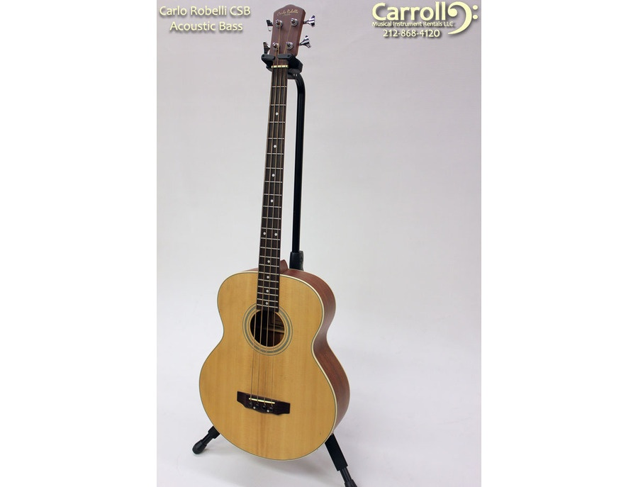 Carlo Robelli Acoustic Electric Bass Guitar