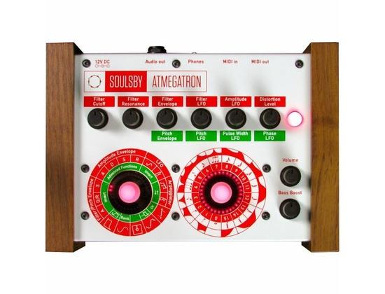 Soulsby Atmegatron V2 8 Bit Synthesizer