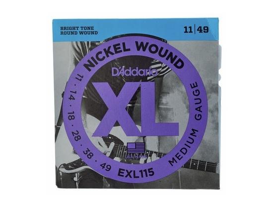 D'Addario EXL 115 Nickel Wound 11/49