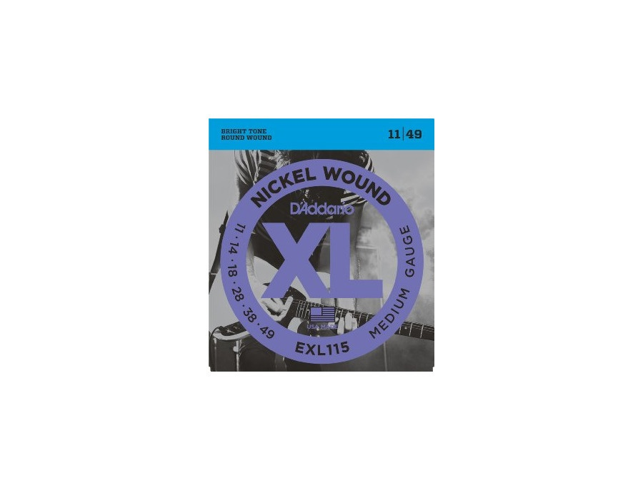 D'Addario EXL 115 Nickel Wound 11/49