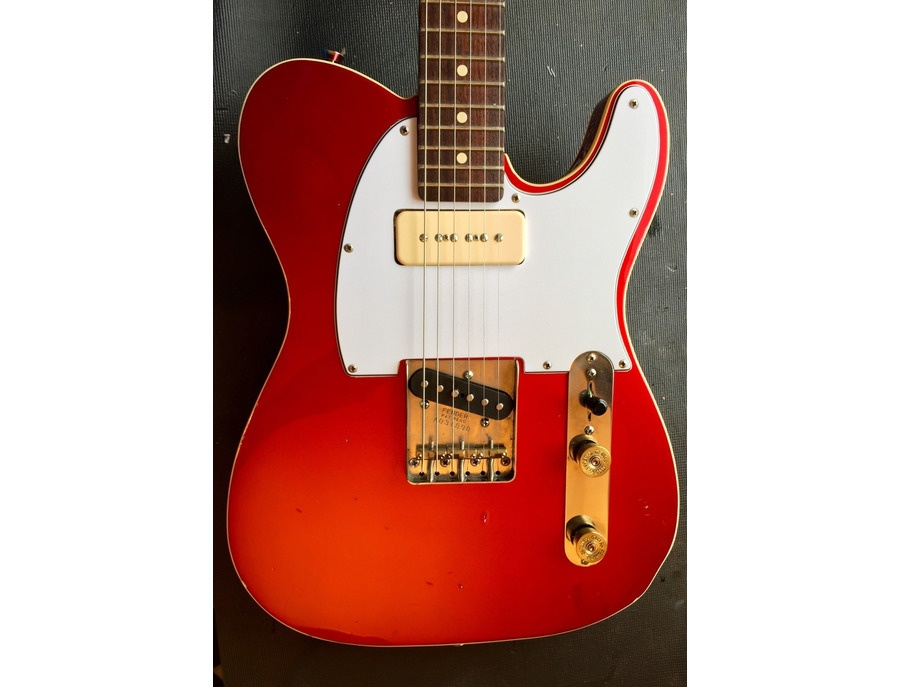 custom telecaster with lindy fralin p90 reviews prices equipboard. Black Bedroom Furniture Sets. Home Design Ideas