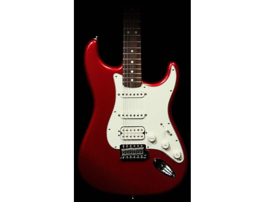 Fender Squier HSS Candy Apple Red