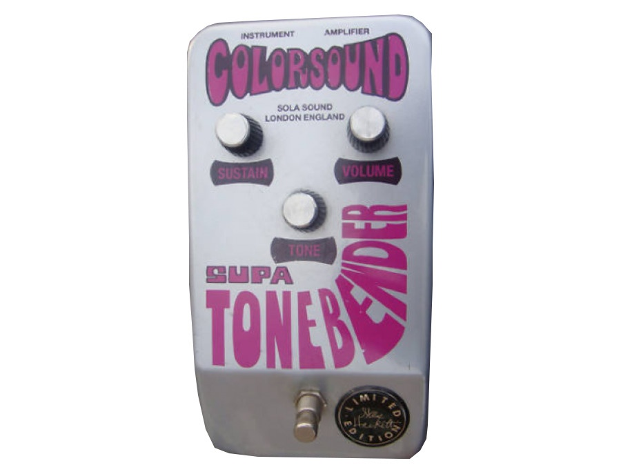 Colorsound by Sola Sound Supa Tonebender