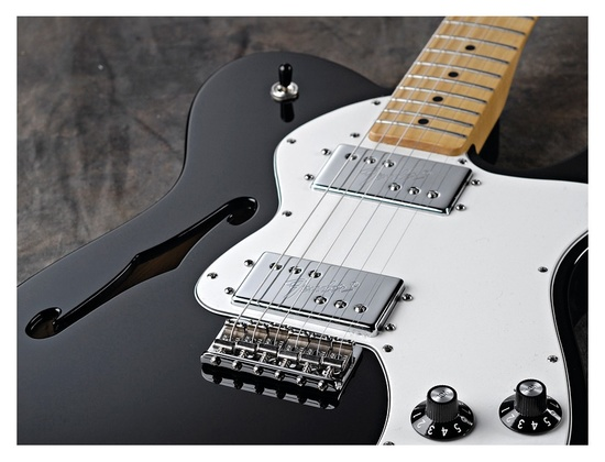 Fender deluxe classic player thinline telecaster