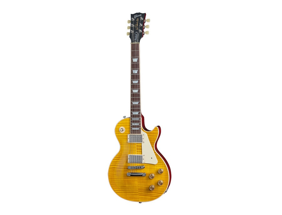 Gibson Les Paul Standard 2015 - Trans Amber Cherry Back Candy - (100 anniversary of Les Paul)