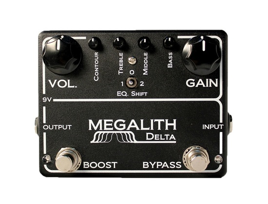 MI Audio Megalith Delta Effects Pedal