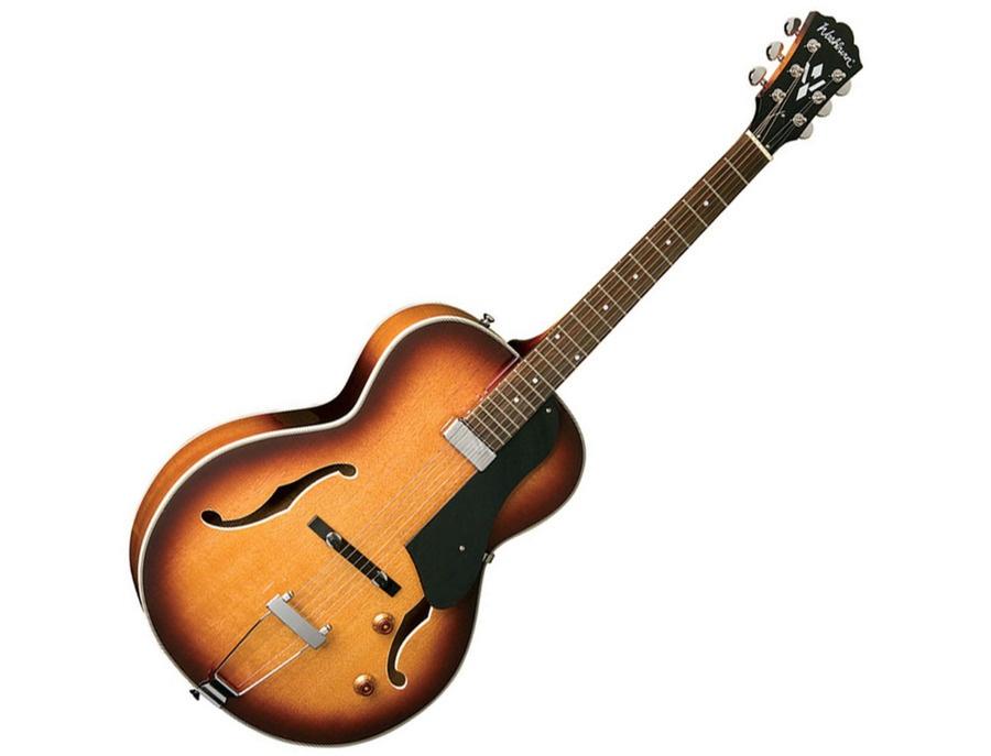 washburn hb15 hollowbody mini humbucker electric guitar reviews prices equipboard. Black Bedroom Furniture Sets. Home Design Ideas