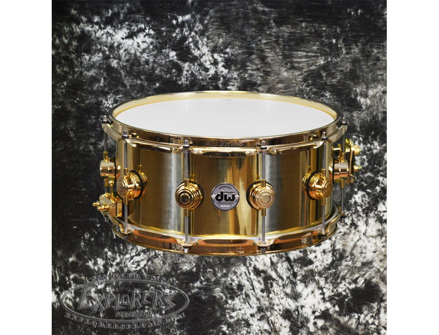 DW 14x7 Brass Snare Drum