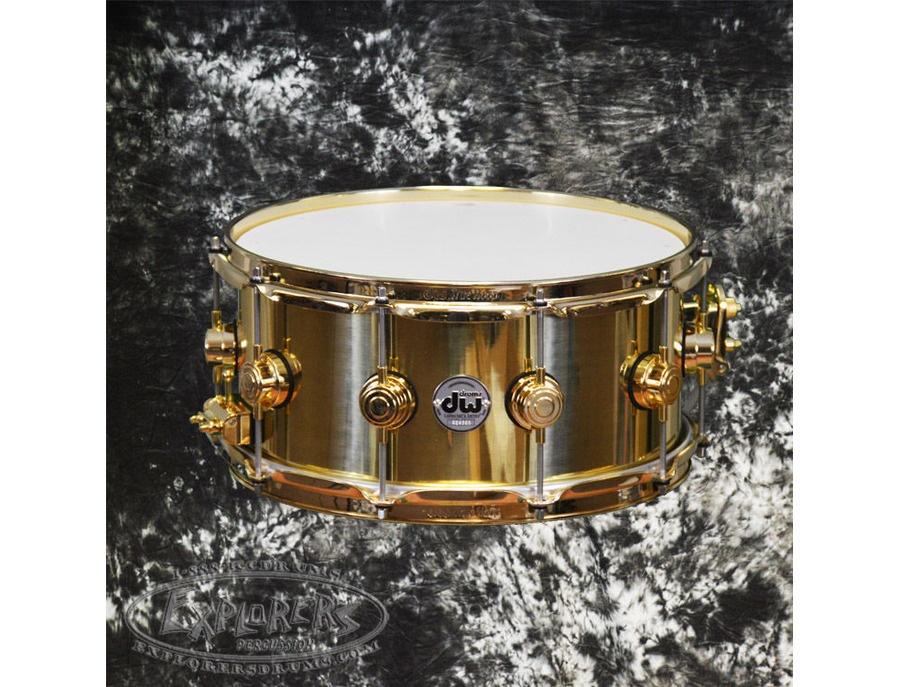 DW 14x7 Brass Snare Drum