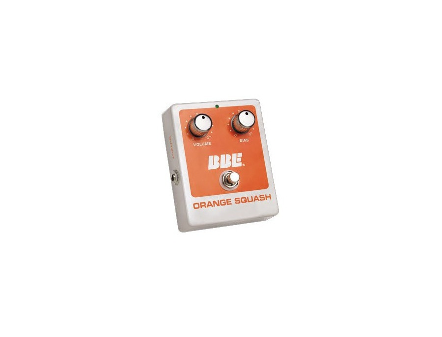 BBE Orange Squash Compressor Pedal