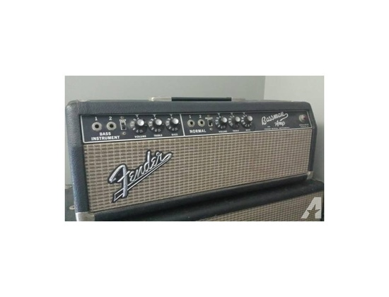 1967 Fender Bassman Amp