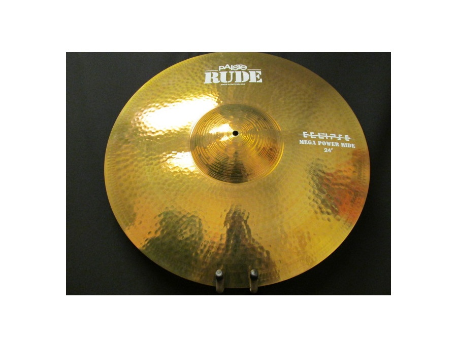 Paiste Rude Mega Power Ride Cymbal