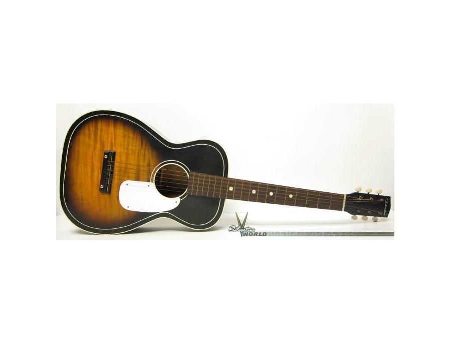 1959 silvertone 604 acoustic guitar xl