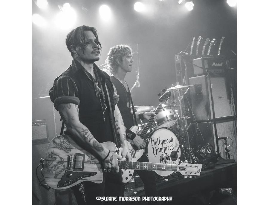 "Duesenberg Johnny Depp Unique ""Wooden Fence"" Guitar"
