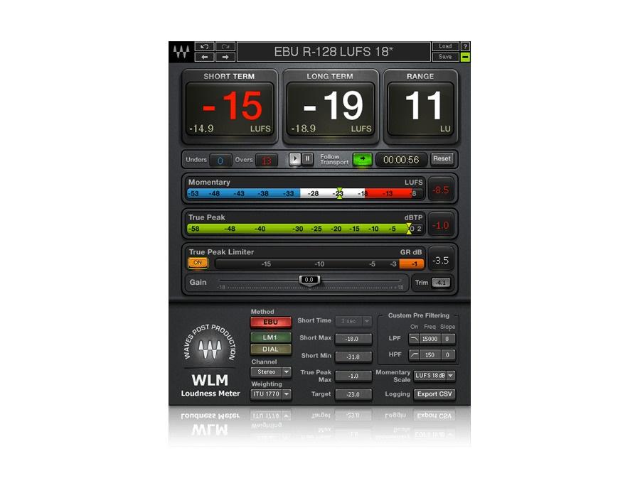 Waves WLM Plus Loudness Meter