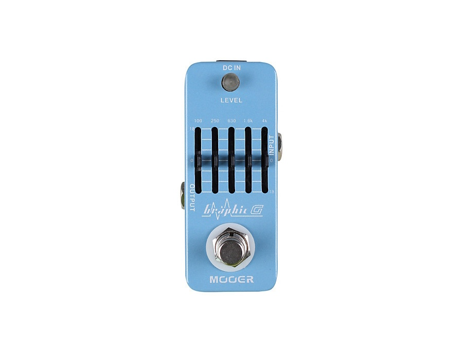 Mooer Graphic G Equalizer pedal