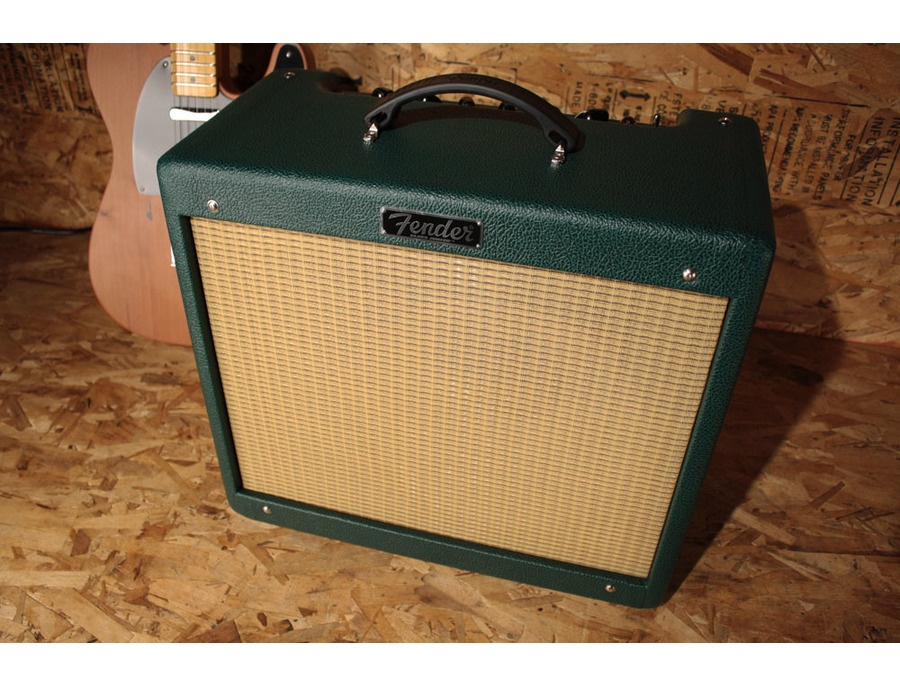 fender blues junior iii emerald green reviews prices equipboard. Black Bedroom Furniture Sets. Home Design Ideas