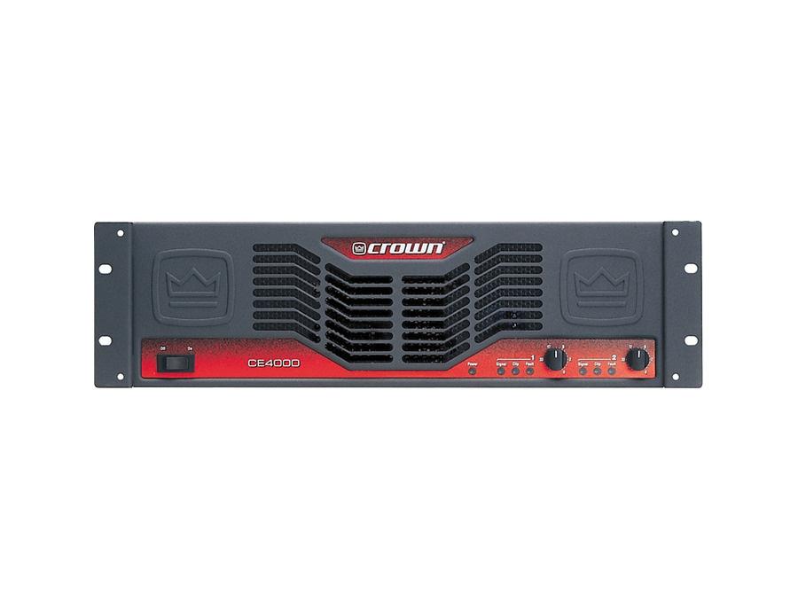Crown CE4000 Power Amp