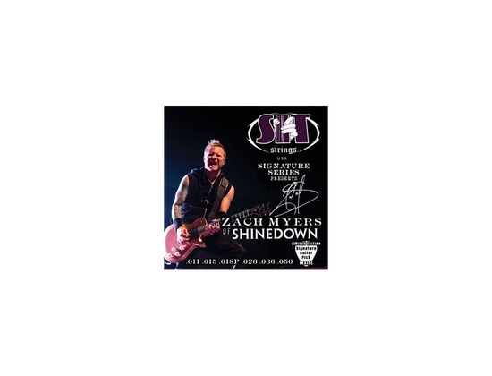S.I.T. String SS-S1150ZM Zach Myers of Shinedown Signature Electric Guitar String