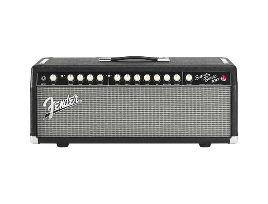 fender super sonic 100 100w tube guitar amp head reviews prices equipboard. Black Bedroom Furniture Sets. Home Design Ideas