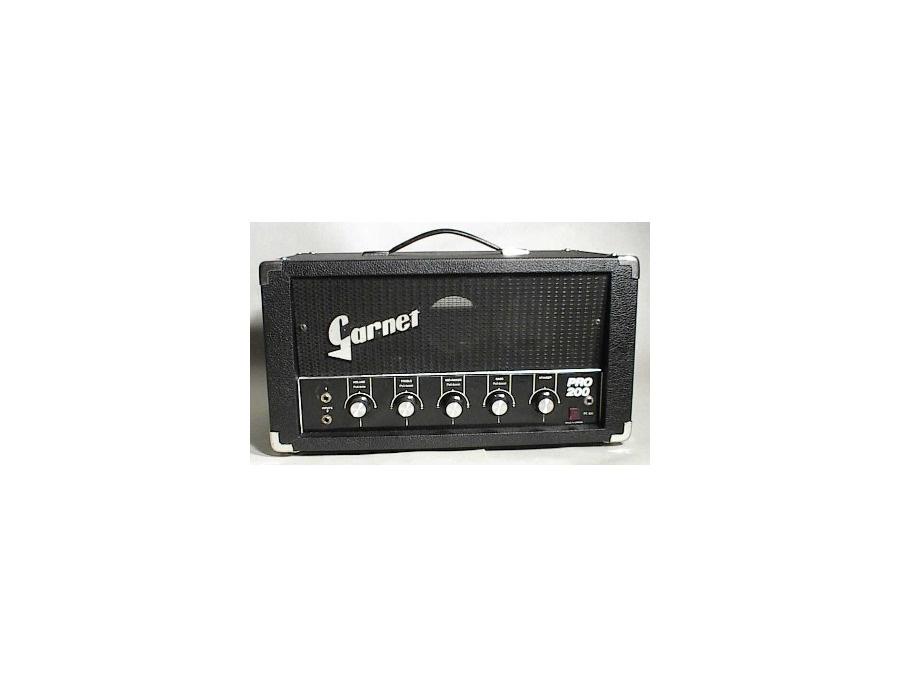 Garnet Pro 200 Amp Head