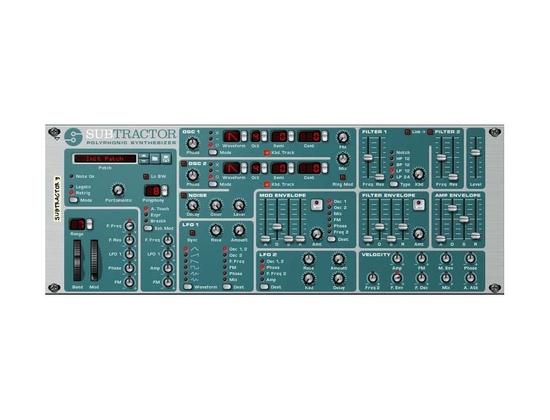 Propellerhead SubTractor Reason Synthesizer