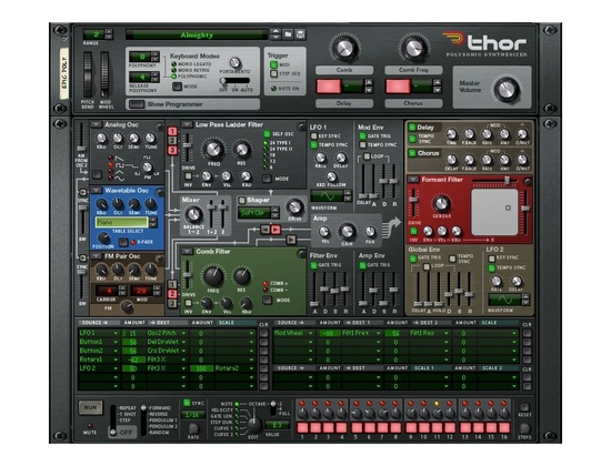 Propellerhead Thor Reason Synthesizer