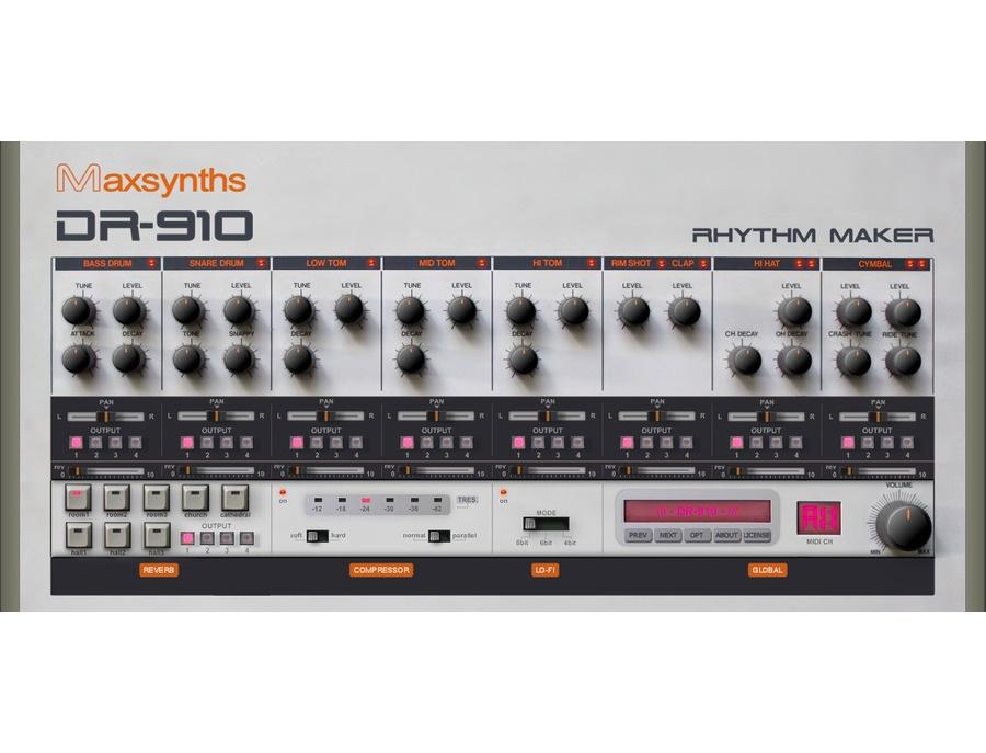 MaxSynths DR-910