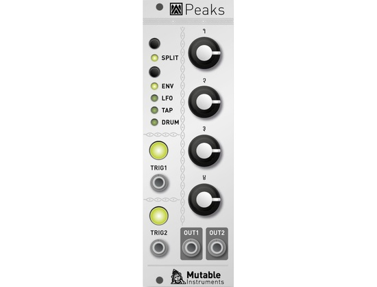 Mutable Instruments Peaks