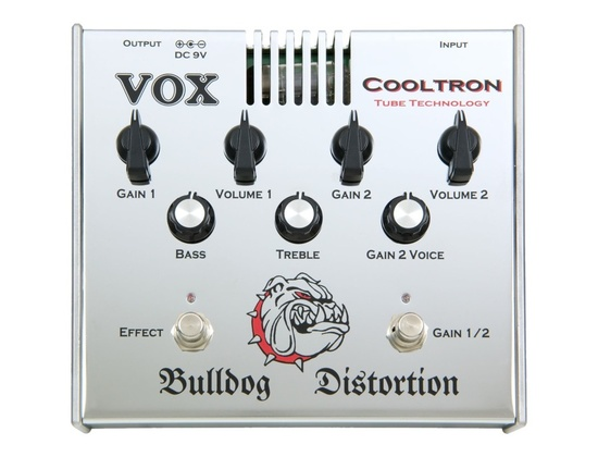 Vox Cooltron CT01DS Bulldog Distortion Pedal