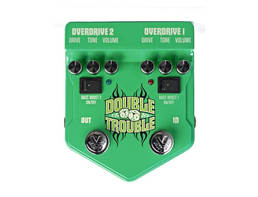 Visual Sound V2 Series V2DT Double Trouble Dual Overdrive Guitar Effects Pedal