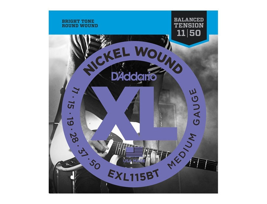 D'Addario EXL115BT XL Balanced Tension 11-50