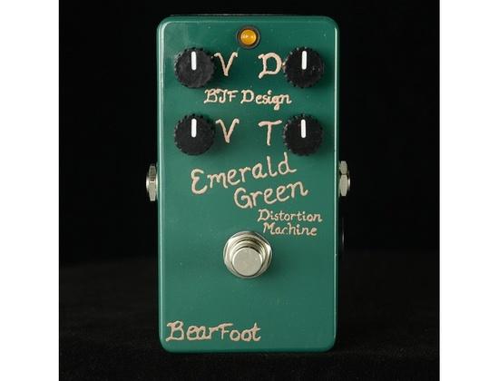 BearFoot FX Emerald Green Distortion Machine