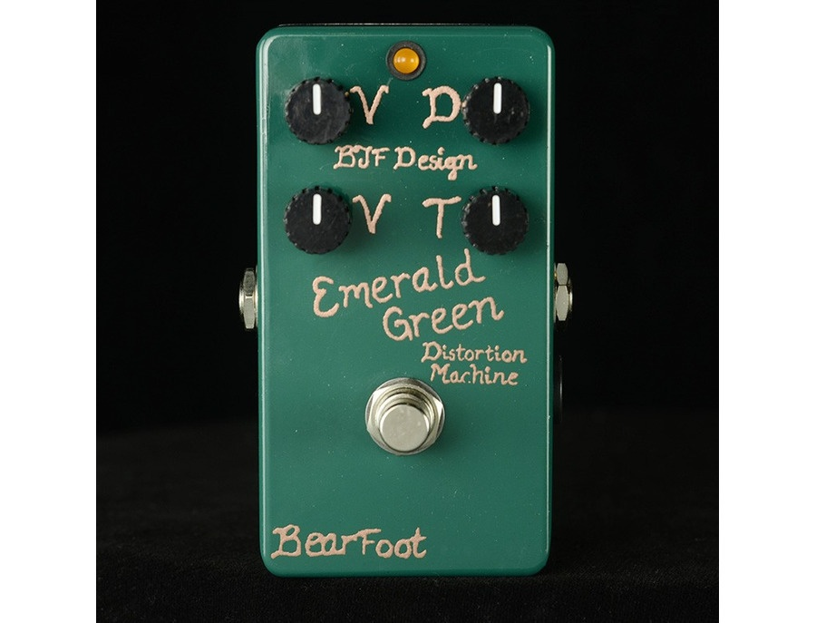 BearFoot FX Emerald Green Distortion Machine